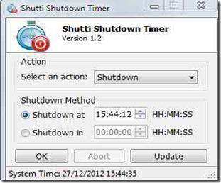 Shutti Shutdown Timer