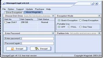 storagecrypt free drive encryption software