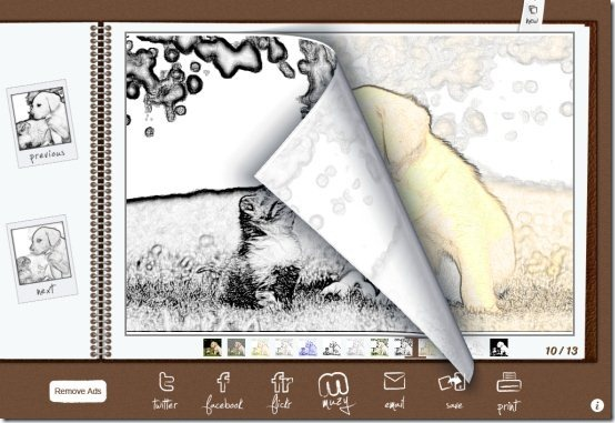 uSketch Flip Pages