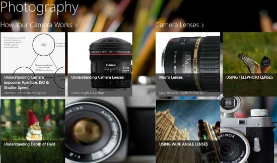 windows 8 photography app learn photography