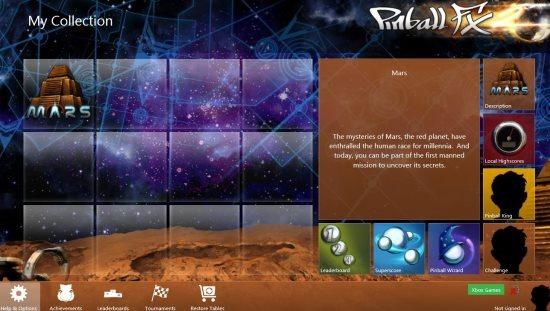 windows 8 pinball app
