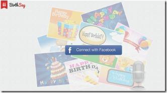 BirthSay 001 birthday greetings from Facebook