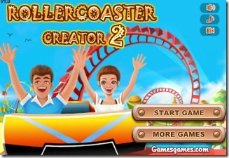 Crazy Rollercoaster 01 construction game