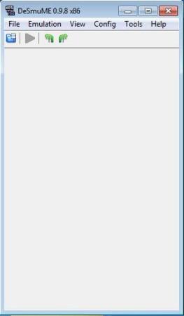 DeSmuMe default window