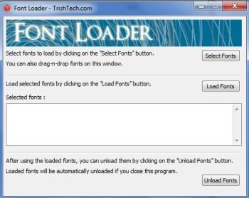 Font Loader 001 load fonts
