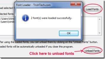 Font Loader 003 load fonts