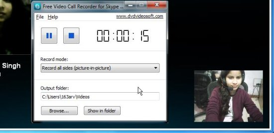 Free Video Call Recorder for Skype - call recording