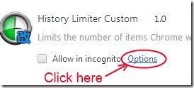 History Limiter Custom 02 manage history