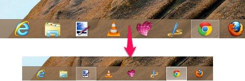 How Reduce The Taskbar Size In Windows 8