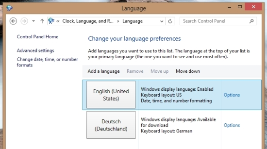 How To Add A New Language In Windows 8