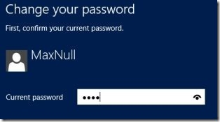 How To Change Your Password In Windows 8