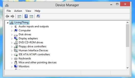 How To Open Device Manager In Windows 8