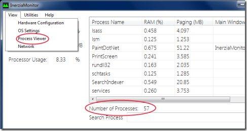 InerziaMonitor 002 Monitor performance
