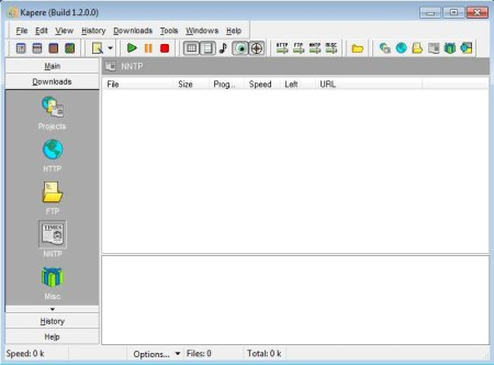 Kapere free download manager default window