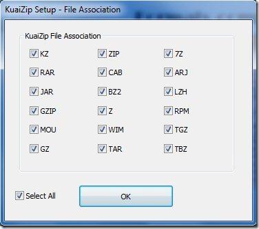 KuaiZip 005 file compression