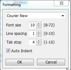 Leafier formatting