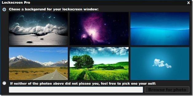 LockScreen pro Background