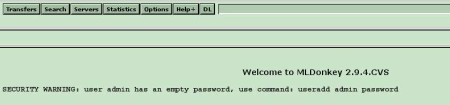 ML Donkey web interface
