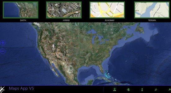 Maps app windows 8