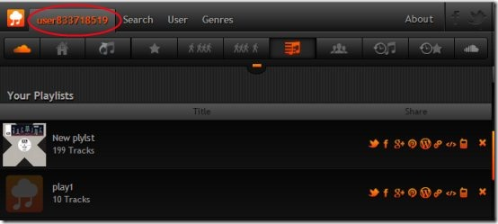 My Cloud Player 05 free online music player