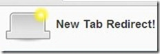 New Tab Redirect! 001 open new tab