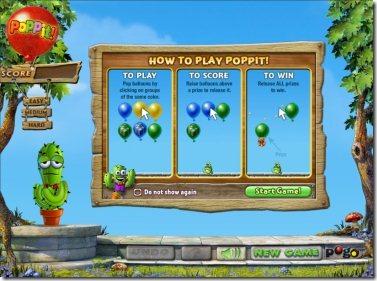 Poppit 001 popping balloons