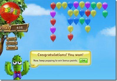 Poppit 005 popping balloons