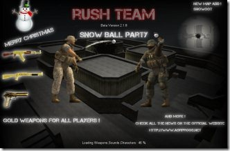 Rush Team 001 online multiplayer shooting game