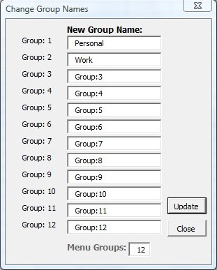 Short-cuts adding groups