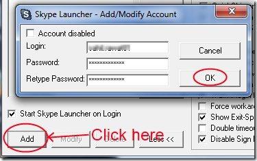 Skype Launcher 002