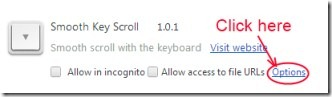 Smooth Key Scroll 02 scrolling speed