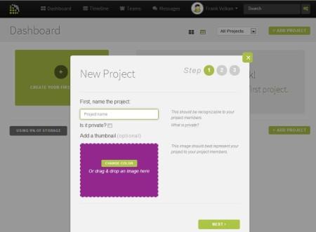 Volerro free team collaboration service default window