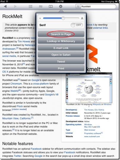 Wikipanion Search