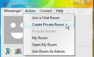 beyluxe messenger interface