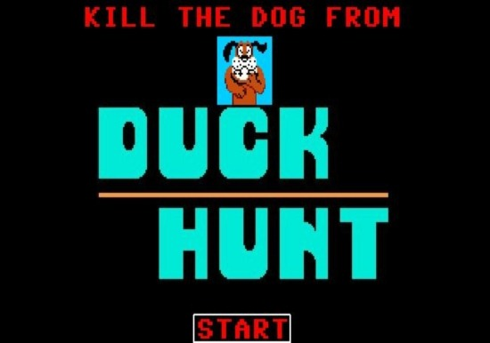 dog from duck hunt