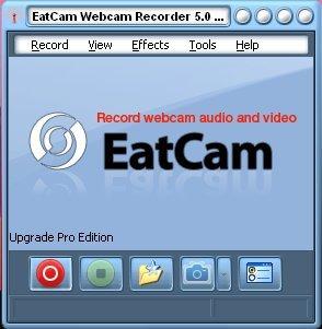 eatcam webcam recorder to record Yahoo video calls
