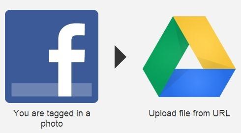 facebook photos to google drive ifttt