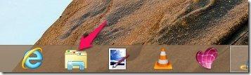 file explorer in Windows 8