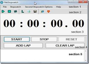 mestopwatch1 free stopwatch software