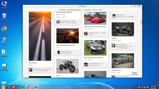 pinterest desktop app
