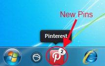 pinterest taskbar icon