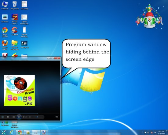 preme for windows hiding window