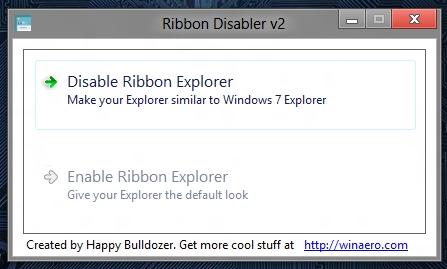 reddon disabler interface screenshot