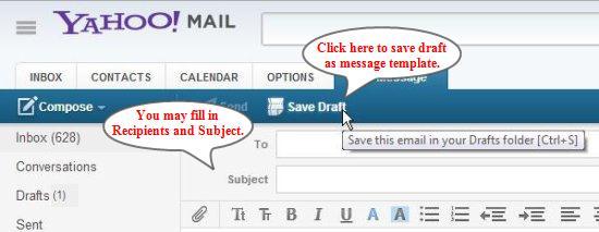 save draft