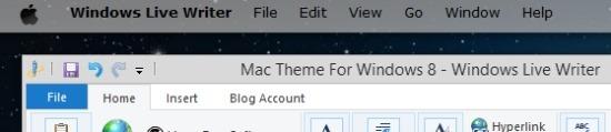 status bar mac thme for windows 8