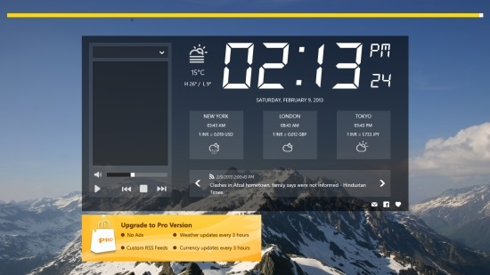 Best Alarm Clock App For Windows 8: Alarm Clock HD