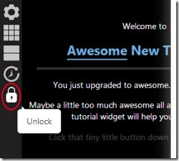 Awesome New Tab Page 02 customize new tab