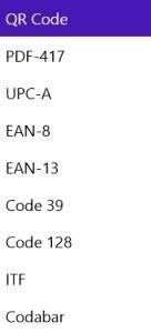 Barcode Generator RT