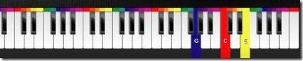 Color Piano! 001 piano app