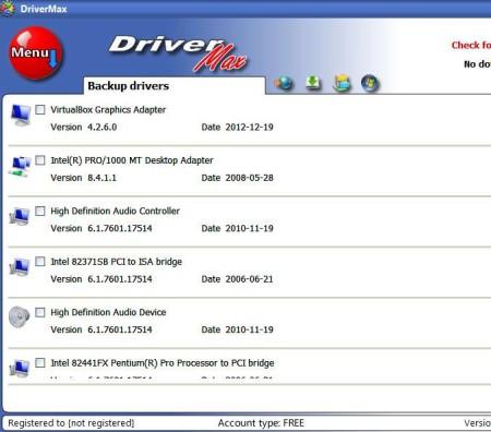 Driver Max backup driver